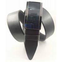 Мужской ремень с пряжкой зажим Millennium AZ35-062 черный