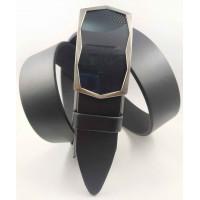 Мужской ремень с пряжкой зажим Millennium AZ35-063 черный