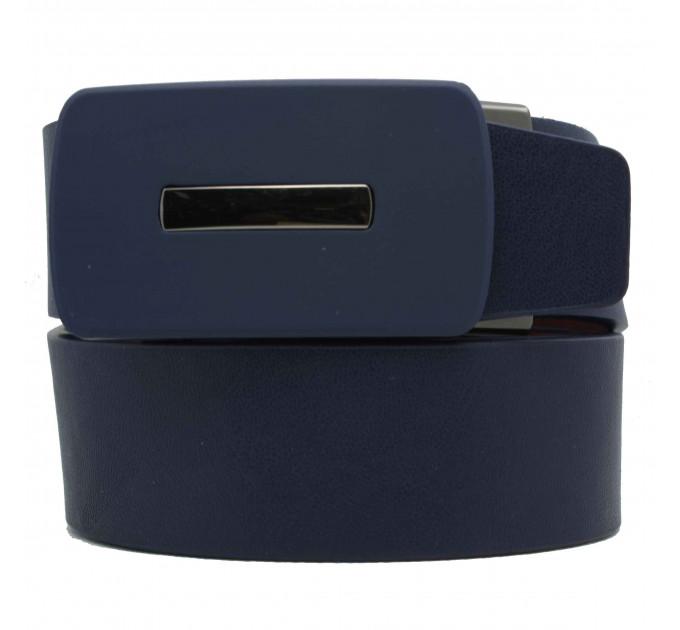 Мужской ремень с пряжкой автомат-зажим AZ35-033 синий