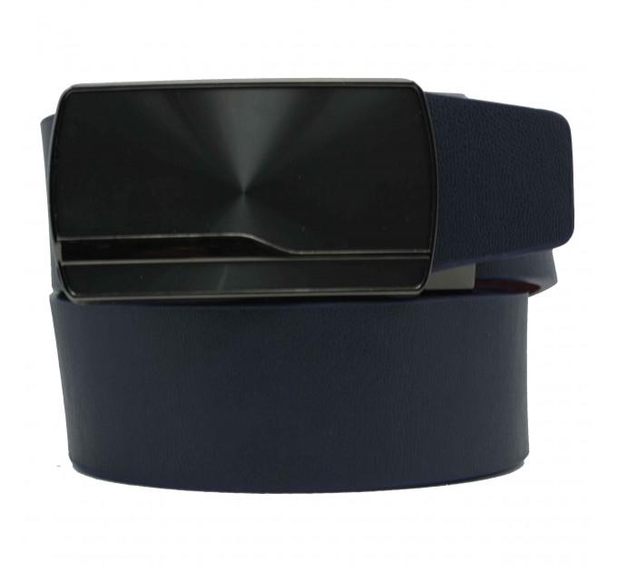 Мужской ремень с пряжкой автомат-зажим AZ35-045 синий