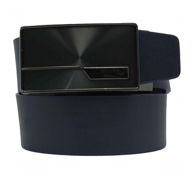 Мужской ремень с пряжкой автомат-зажим AZ35-046 синий