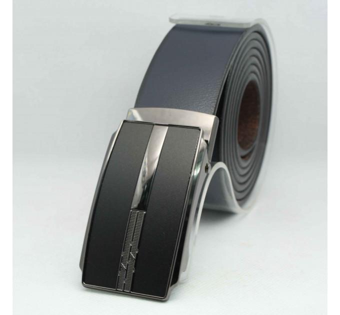 Мужской ремень с пряжкой автомат-зажим AZ35-048 батал черный