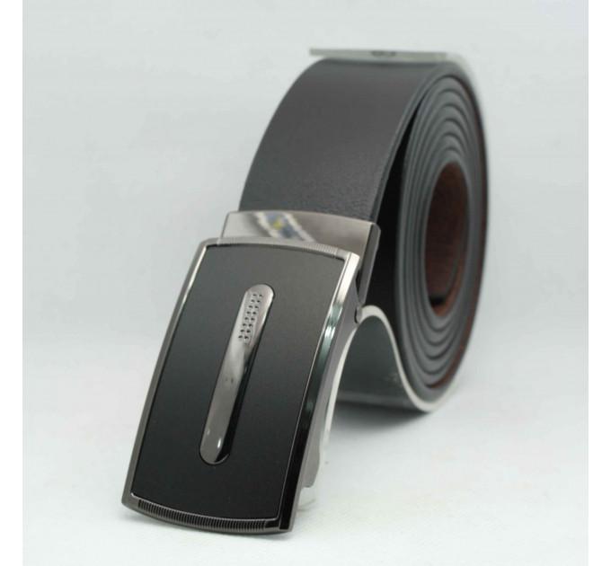 Мужской ремень с пряжкой автомат-зажим AZ35-050 батал черный
