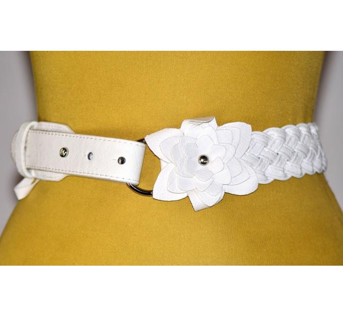 Женский ремень AP-039 белый