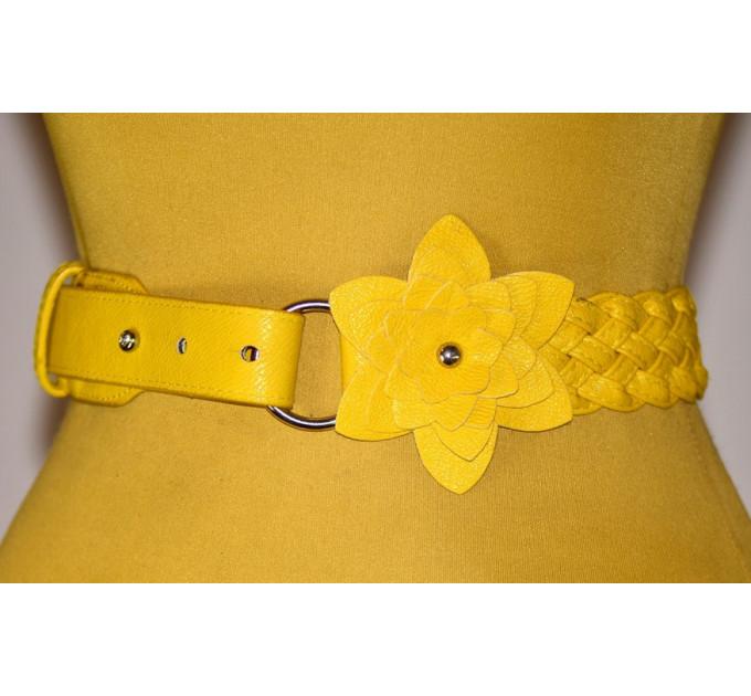 Женский ремень AP-042 желтый