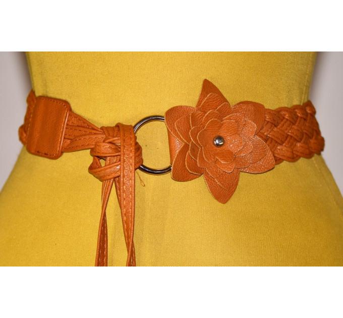 Женский ремень AP-045 коричневый