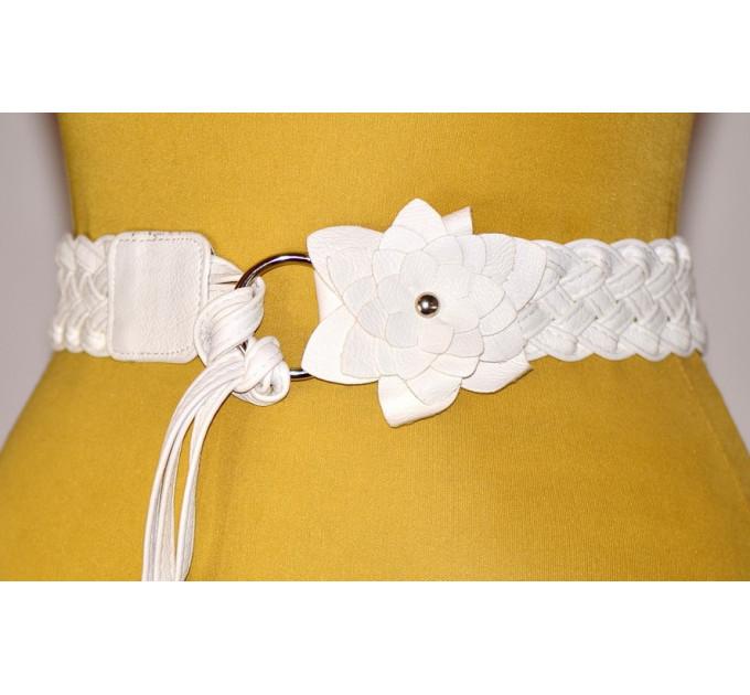 Женский ремень AP-048 белый