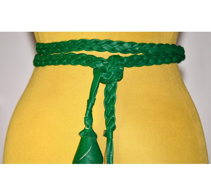Женский ремень AP-049 зеленый