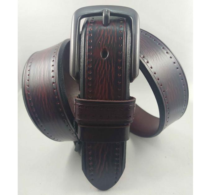 Женский ремень для джинсов J40-127 коньячно-коричневый