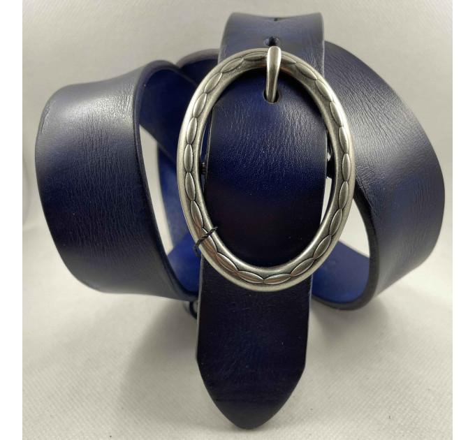 Женский ремень для джинсов Bt.Belt J40-150 синий