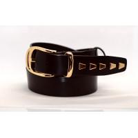 Женский ремень для джинсов J35-007 темно-коричневый
