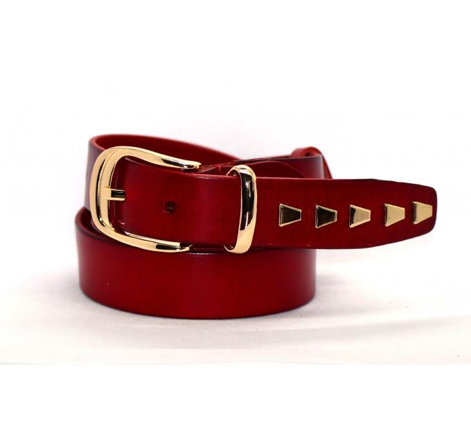 Женский ремень для джинсов J35-008 коричневый
