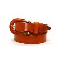 Женский ремень для джинсов J35-011 коричневый