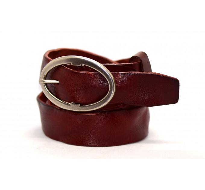 Женский ремень для джинсов J40-001 коричневый
