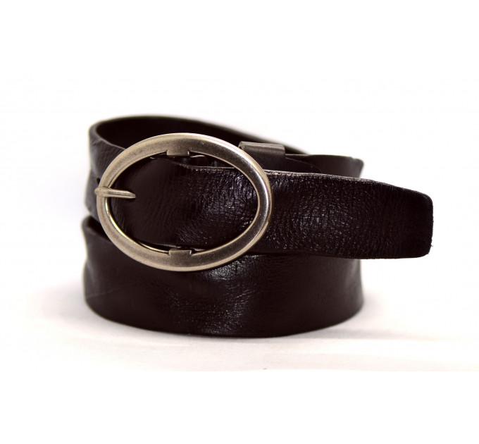Женский ремень для джинсов J40-003 темно-коричневый