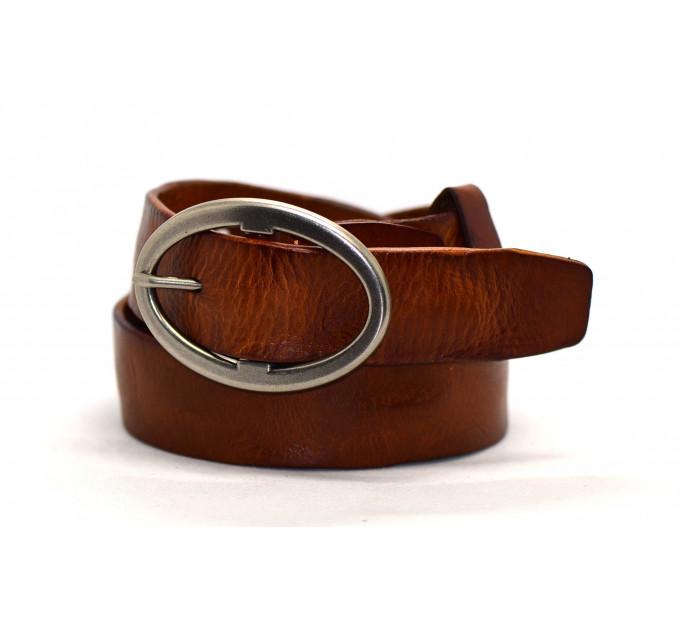 Женский ремень для джинсов J40-004 коричневый