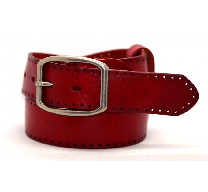 Женский ремень для джинсов J40-009 красный