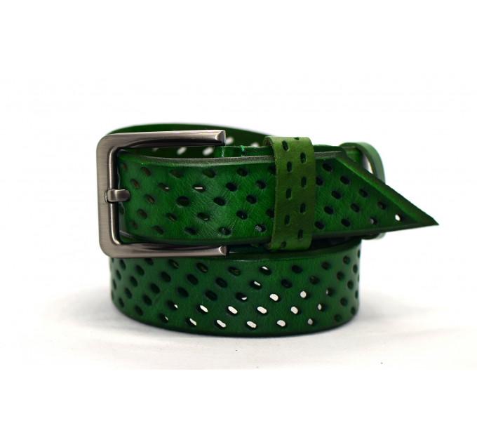 Женский ремень для джинсов J40-018 зеленый