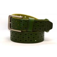 Женский ремень для джинсов J40-027 темно-зеленый
