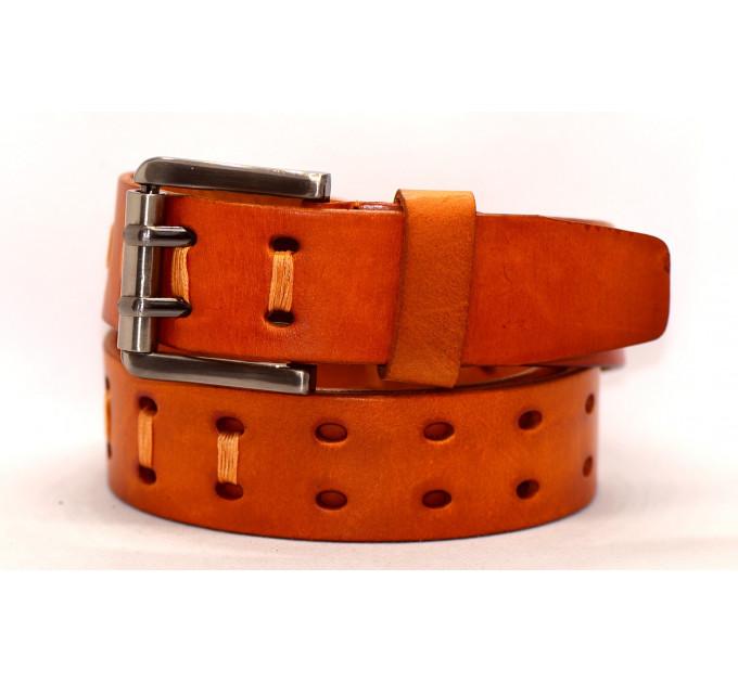Женский ремень для джинсов J40-034 оранжевый