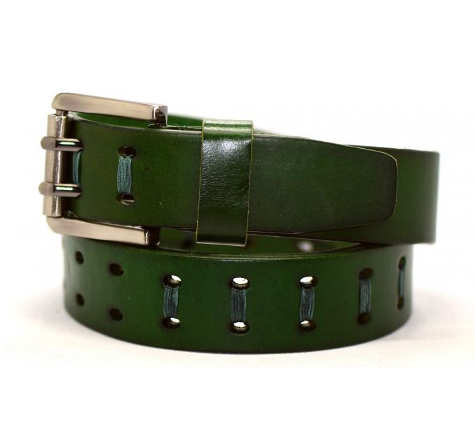 Женский ремень для джинсов J40-037 темно-зеленый
