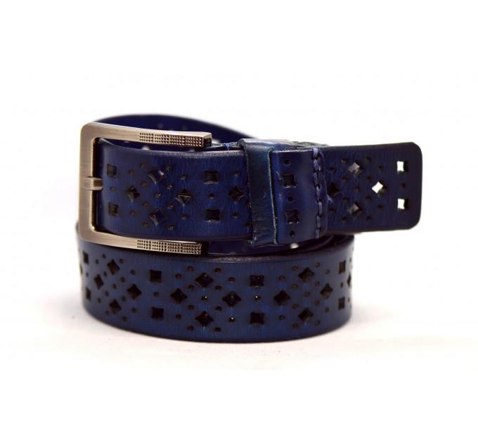 Женский ремень для джинсов J40-045 темно-синий