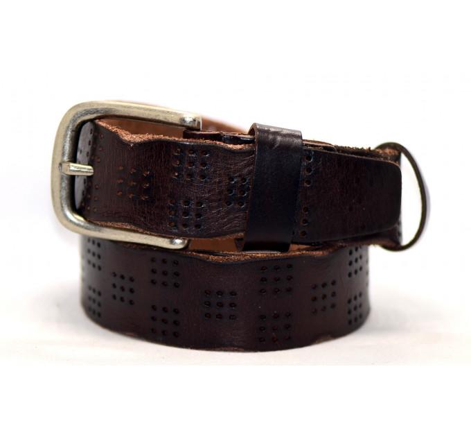Женский ремень для джинсов J40-058 темно-коричневый