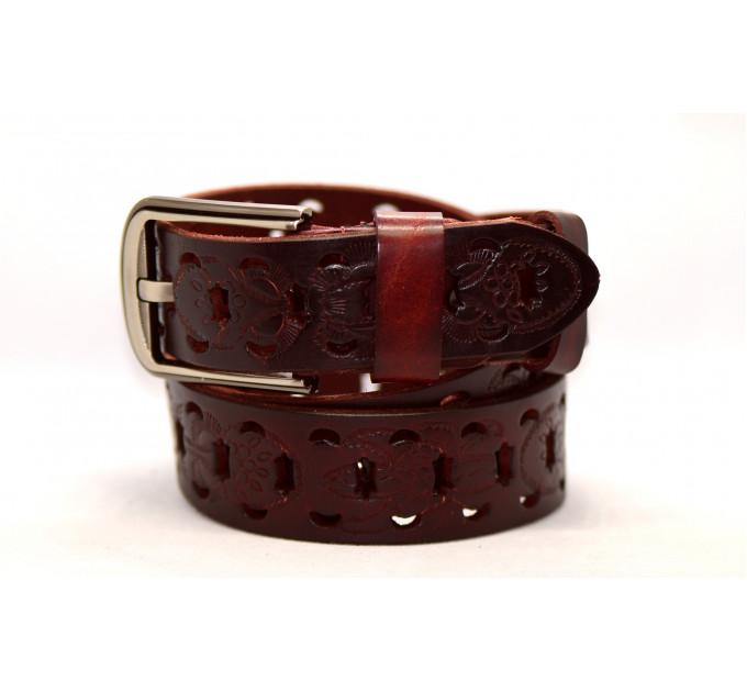 Женский ремень для джинсов J40-060 темно-коричневый