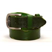 Женский ремень для джинсов J40-068 зеленый