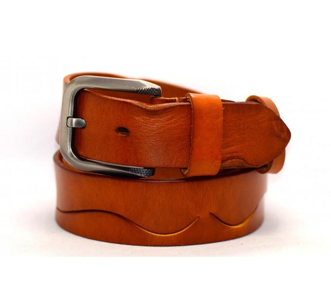 Женский ремень для джинсов J40-090 оранжевый