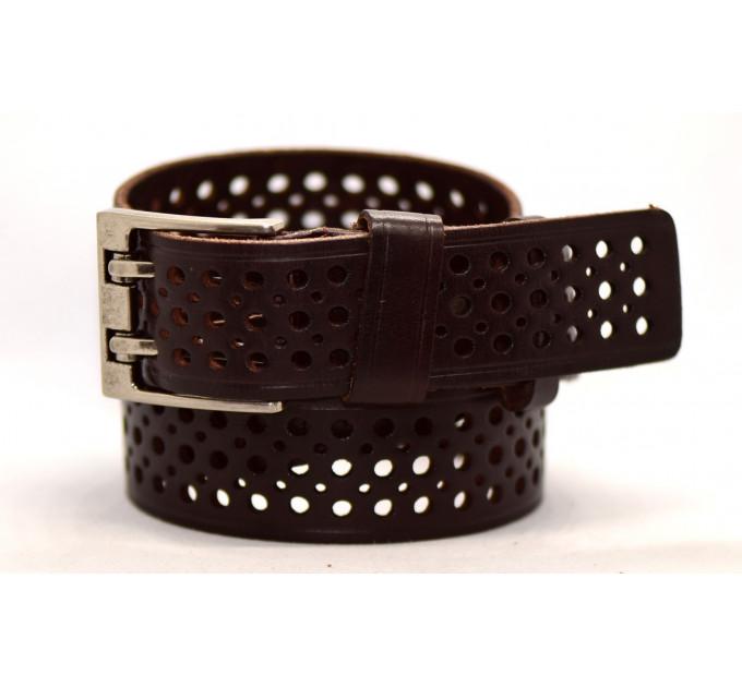Женский ремень для джинсов J40-096 темно-коричневый