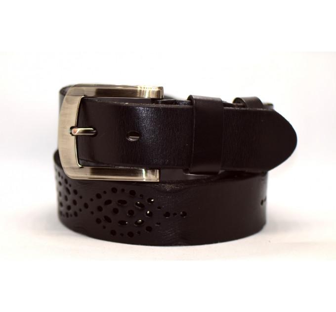 Женский ремень для джинсов J40-105 темно-коричневый