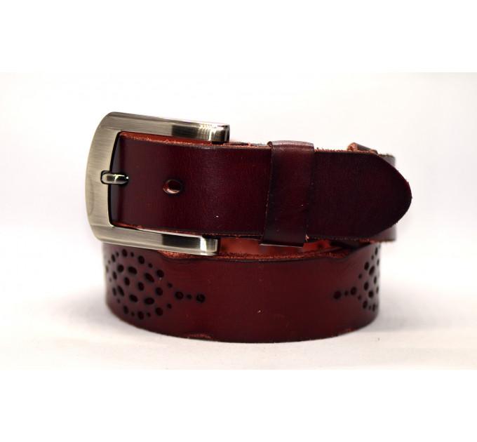 Женский ремень для джинсов J40-108 темно-коричневый