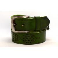 Женский ремень для джинсов  J40-109 темно-зеленый