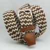 Ремень-резинка Rez35-005 коричневый