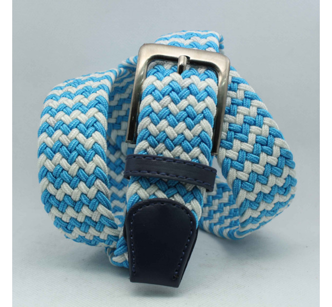 Ремень-резинка Rez35-007 голубой