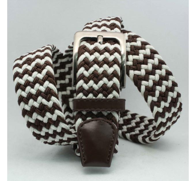 Ремень-резинка Rez35-008 коричневый