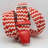 Ремень-резинка Rez35-009 красный