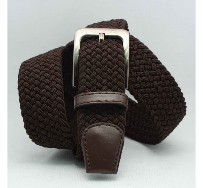 Ремень-резинка Rez35-023 коричневый