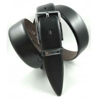 Мужской классический ремень Exclusive CB35-001 черный