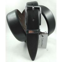 Мужской классический ремень Exclusive CB35-004 черный