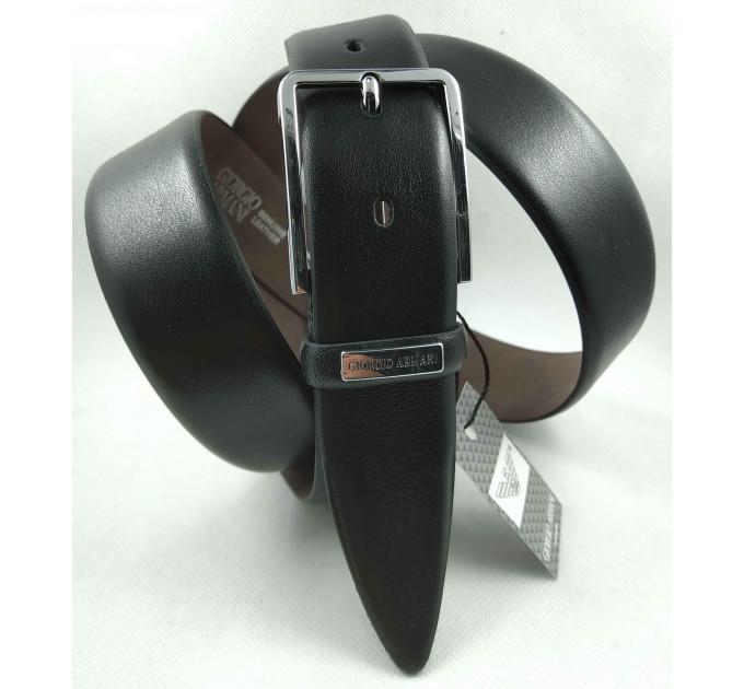 Мужской классический ремень Exclusive CB35-005 черный