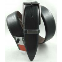 Мужской классический ремень Exclusive CB35-012 черный
