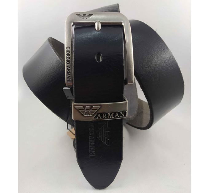Мужской ремень джинсовый Exclusive ar40-103 черный