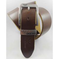 Мужской ремень джинсовый Exclusive ar40-106 коричневый