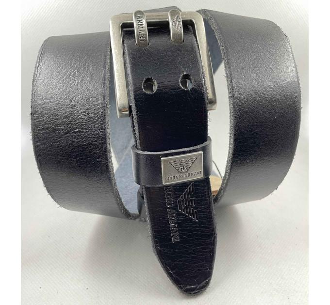 Мужской ремень джинсовый Exclusive ar40-108 черный