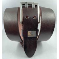 Мужской ремень джинсовый Exclusive ar40-109 коричневый