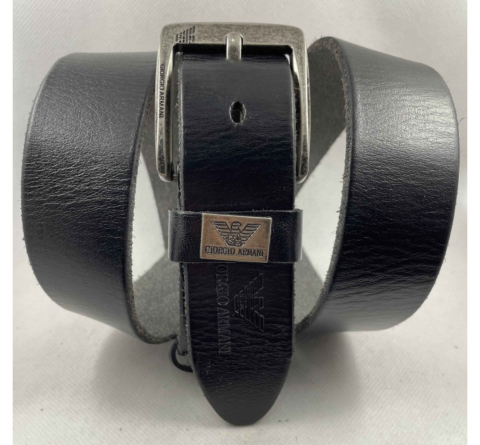 Мужской ремень джинсовый Exclusive ar40-112 черный