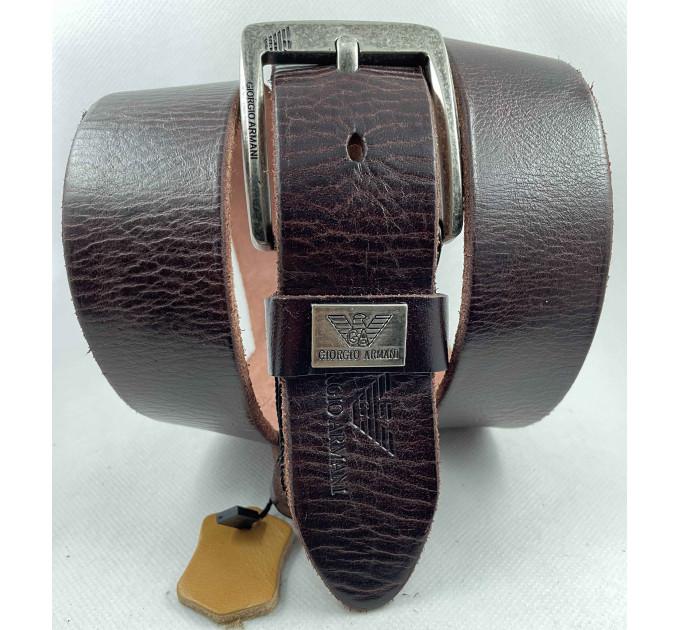 Мужской ремень джинсовый Exclusive ar40-113 коричневый