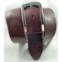 Мужской ремень джинсовый Exclusive ar40-115 коричневый